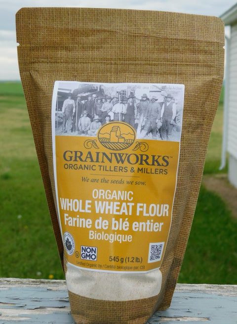 Organic Whole Wheat Flour | 545 g - Cultivatr - Farm to Table