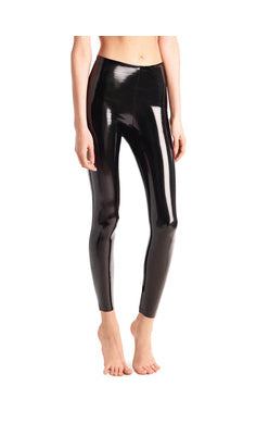 Faux Patent Leggings Commando