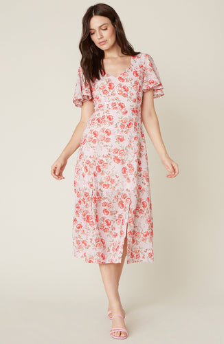 Love Floral Midi Dress BB Dakota