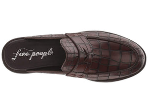 Free People Rowan Penny Loafer (Brown) Women's Slip on Shoes