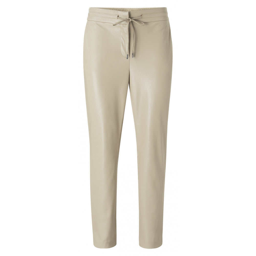 Faux Leather Relaxed trousers Yaya the Brand