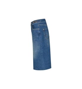 Selma Denim Skirt Mos Mosh