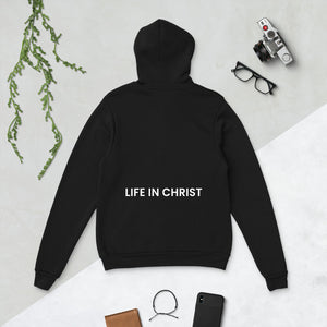 AWAKENED TO LIFE IN CHRIST HOODIE BLACK