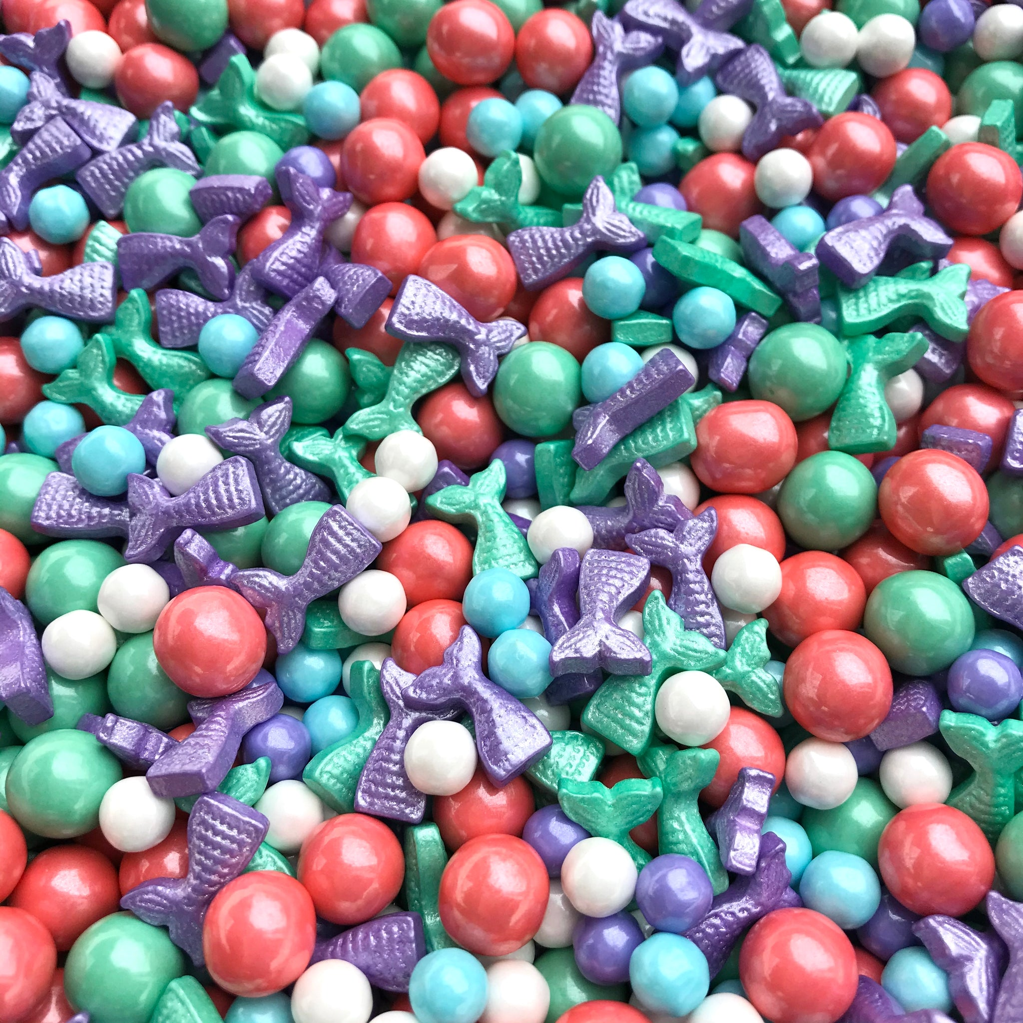 Sprinkles | Mermaid Sprinkles | Mermaid candy | Mermaids | Candy | Mermaid candy | Cupcake sprinkles | Baking | Manvscakes