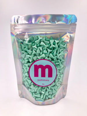Sprinkles | Teal Mermaid Tail Shaped Sprinkles | Edible Sprinkles | Teal Sprinkles