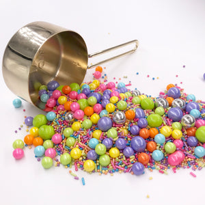 Sprinkles | Electric Carnival Sprinkle Mix | Metallic Sprinkles | Jimmies | Birthday Sprinkles