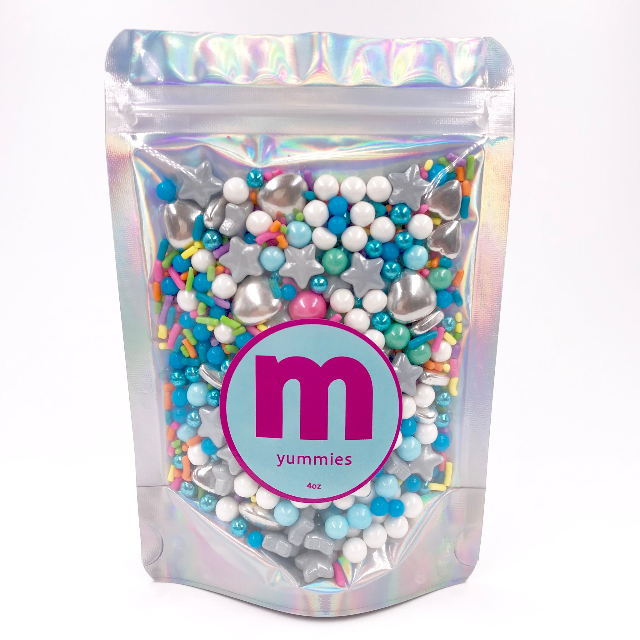 Sprinkles | Dolce Vita Rainbow Sprinkle Mix | Metallic Sprinkles | Rainbow Jimmies | Cakes