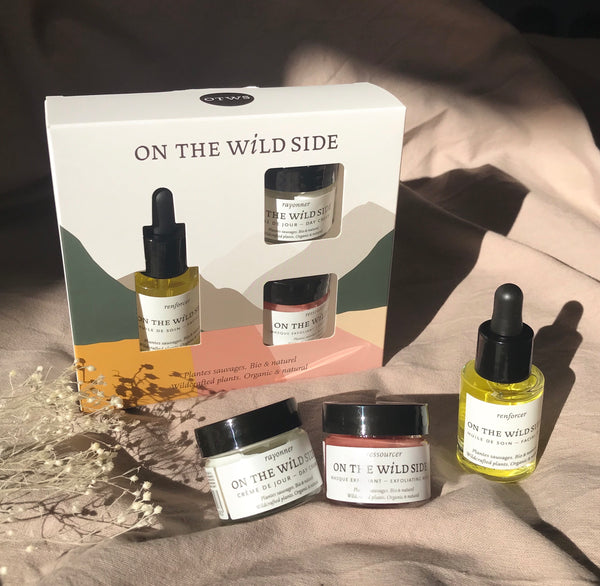 coffret rituel beauté bio On The Wild Side - Puralys