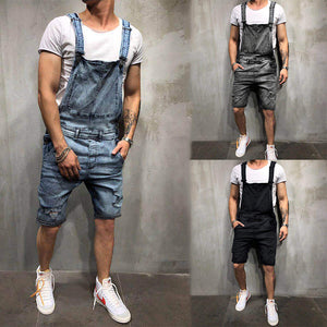 ae7abb2bba New Fashion Men's Sling Jeans Jumpsuit