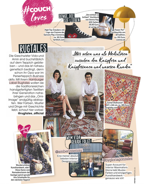 Couch Magazin Rugtales