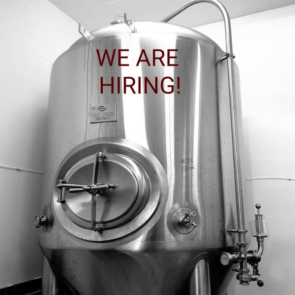 We are hiring a brewer!