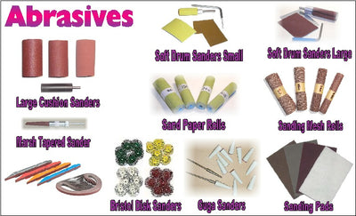 Abrasives, Bigfoot Carving Tools