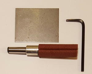 "1080001 - Sander 1/2"" x 1-1/2"" - 1/4"" shank, Model #2 - bigfoot-carving-tools"