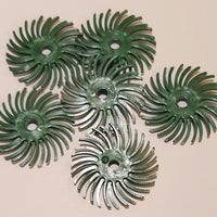 "1170652 - Radial Bristle Disc 1"" - 50 grit (Green) - bigfoot-carving-tools"