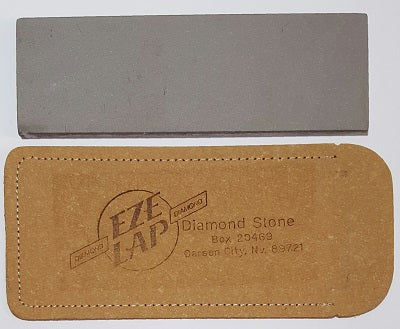 "1240302 - Diamond Stone  2"" x 6"" Leather Pouch, Medium - bigfoot-carving-tools"