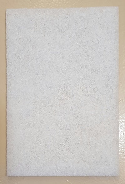"1260103 - Defuzzer Pad, 6"" x 9"", White, Super Fine, bigfoot-carving-tools, abrasive"