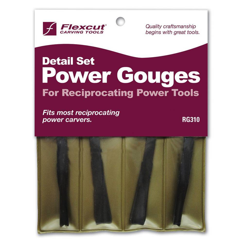 1521125 - Reciprocating, Detailing Gouge Set, Flexcut - bigfoot-carving-tools