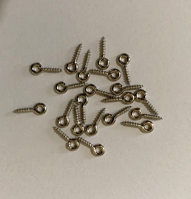 1901101 - Screw Eyes, Zinc Plated, 5/16