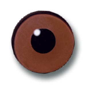 1232004 - Bird Eyes, 4mm Brown, Wired