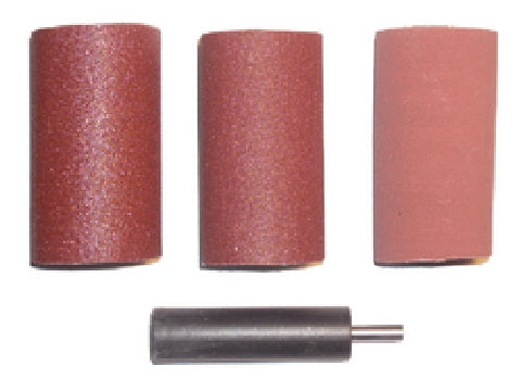 "1101000 - Sand-it Cushioned Drum Kit - 1/4"" Arbor, SI-1 - bigfoot-carving-tools"