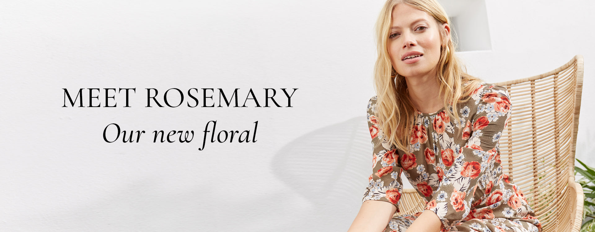 Meet Rosemary - our new floral