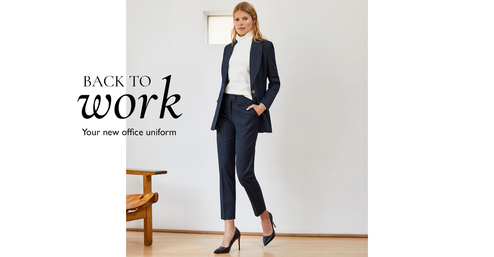 Back to work Your new office uniform