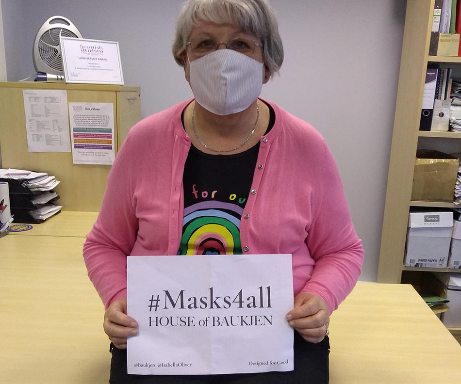 #Masks4all - Masks donated to charities and organisations