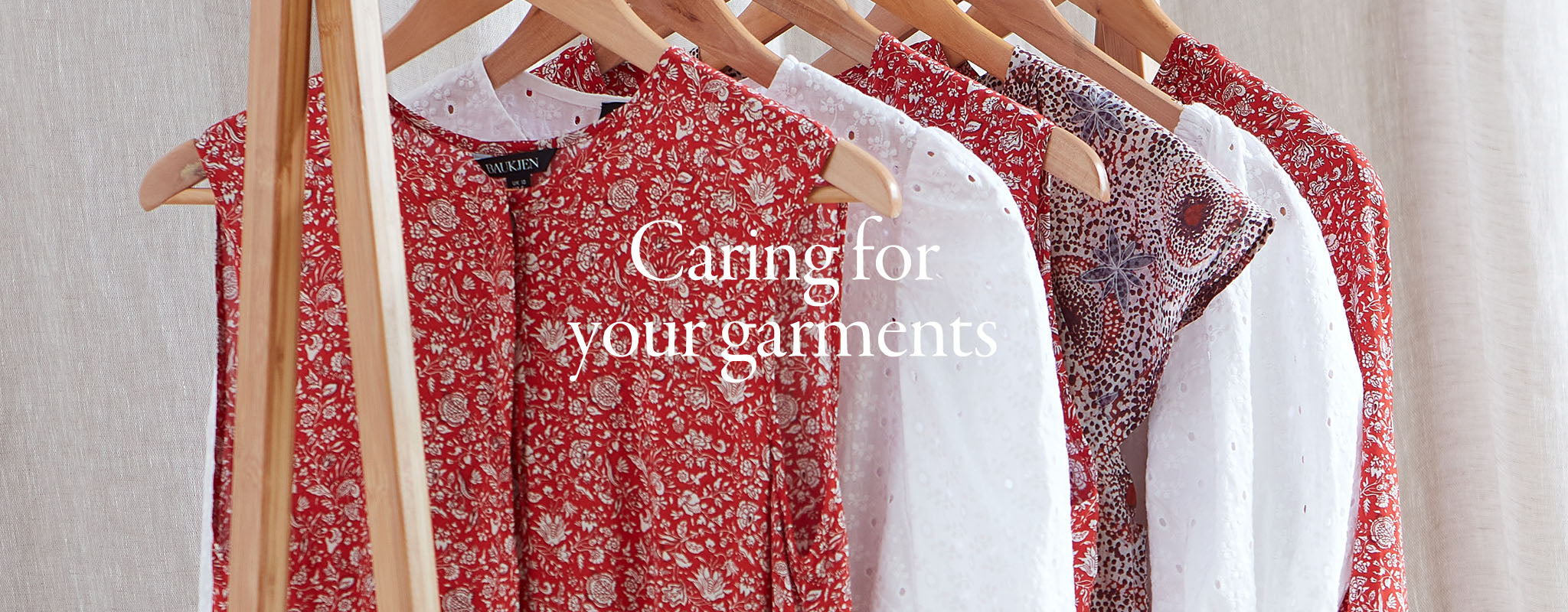 Caring for your garments