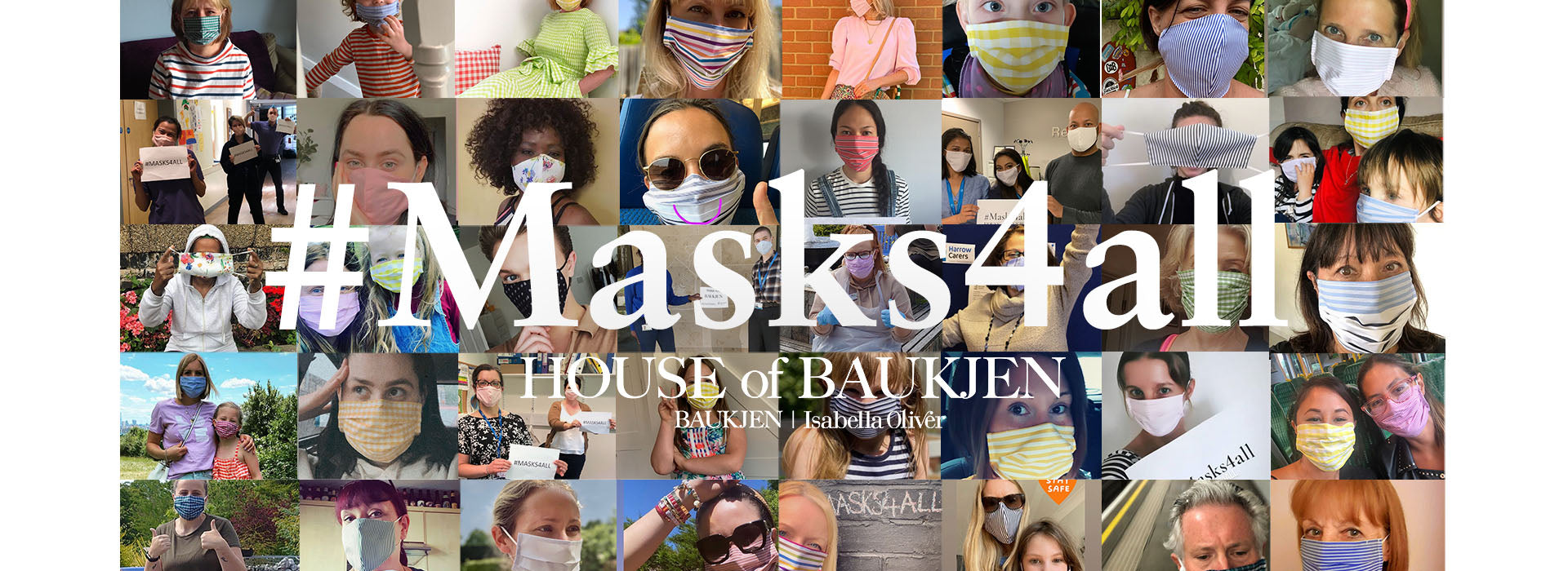 #Masks4all - Vogue face mask image