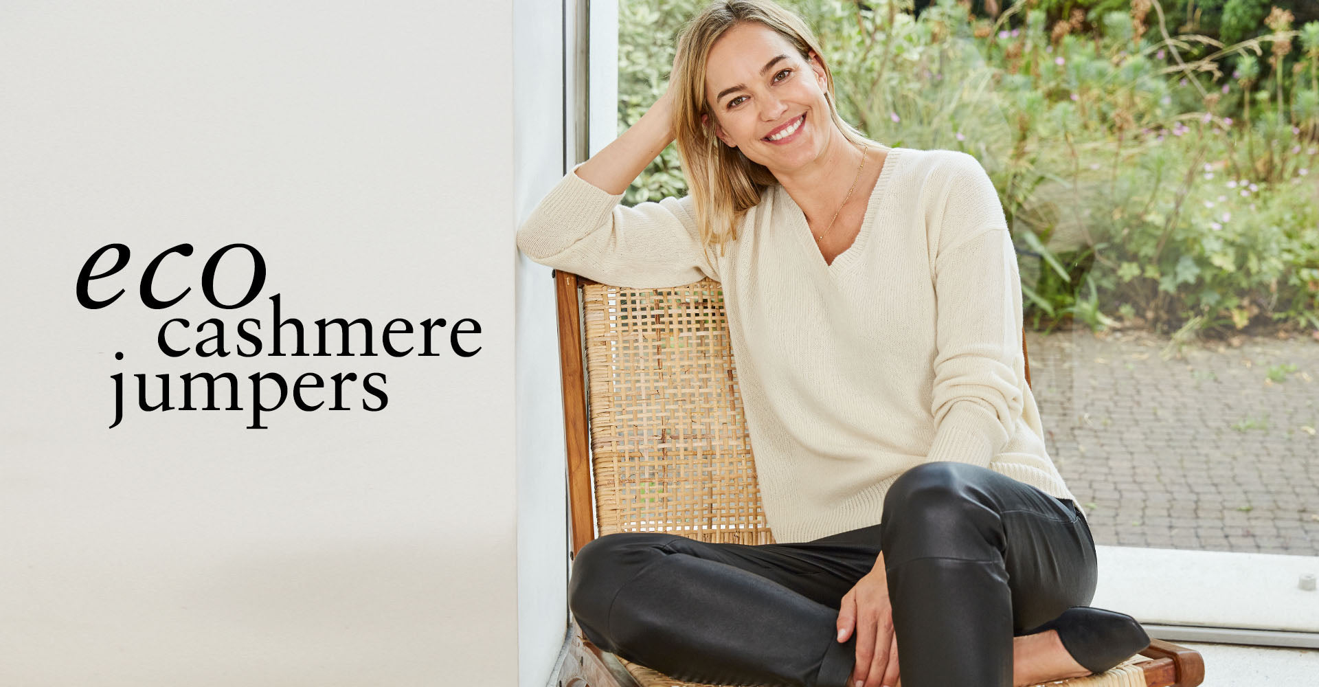 Eco Cashmere Jumpers