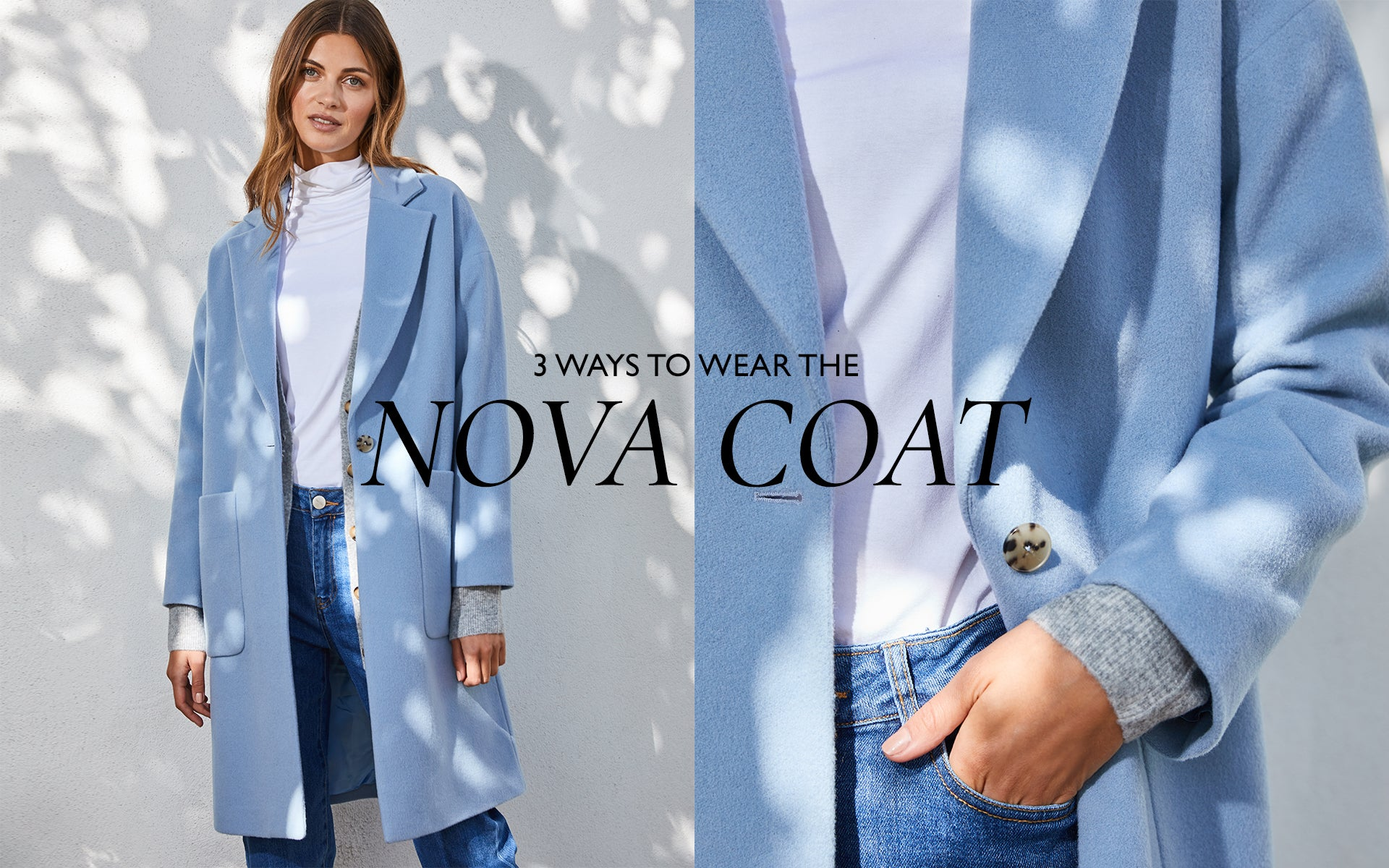 3 ways to wear the Nova Coat