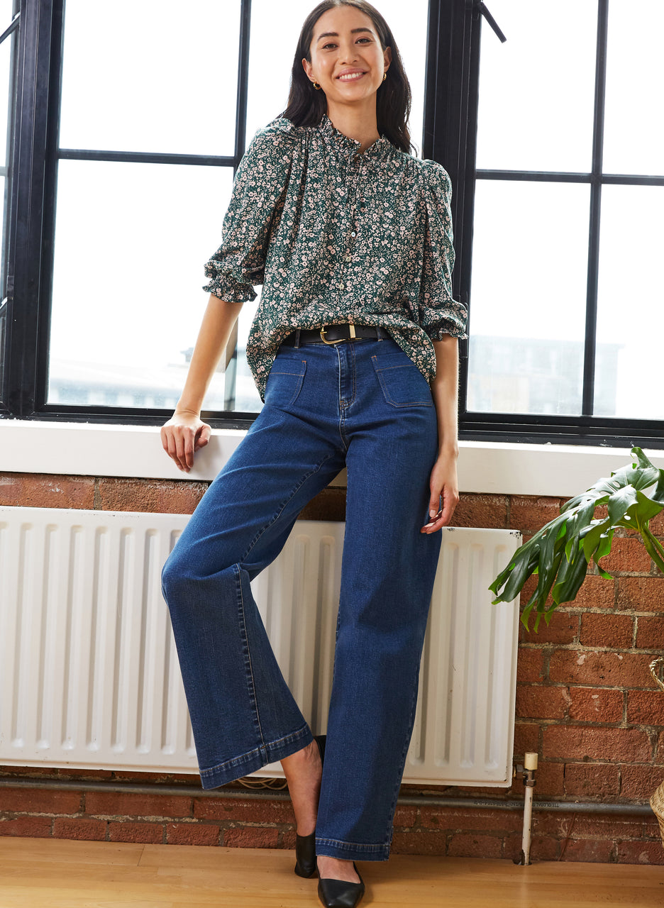 Annest Blouse with LENZING™ ECOVERO™