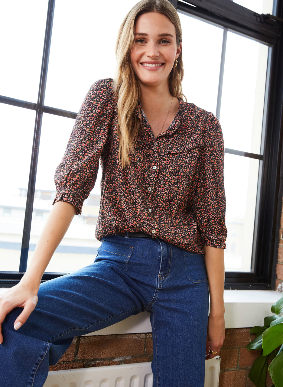 Aneira Blouse with LENZING™ ECOVERO™