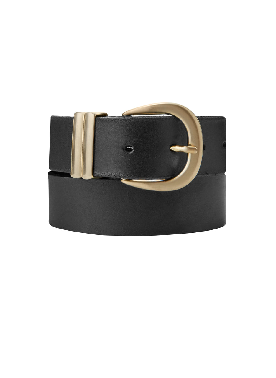 Baukjen Signature Gold Buckle Belt