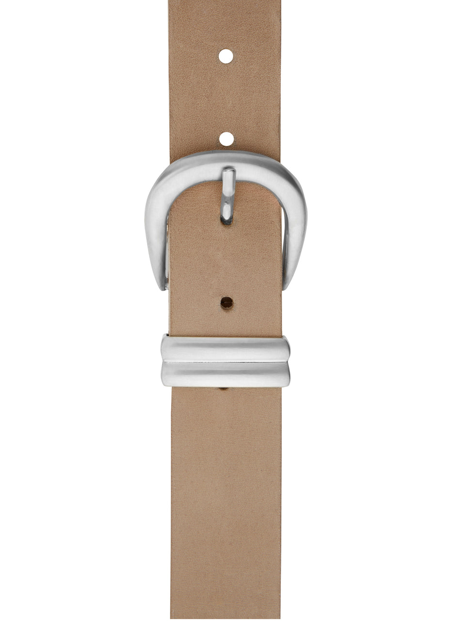 Baukjen Signature Silver Buckle Belt