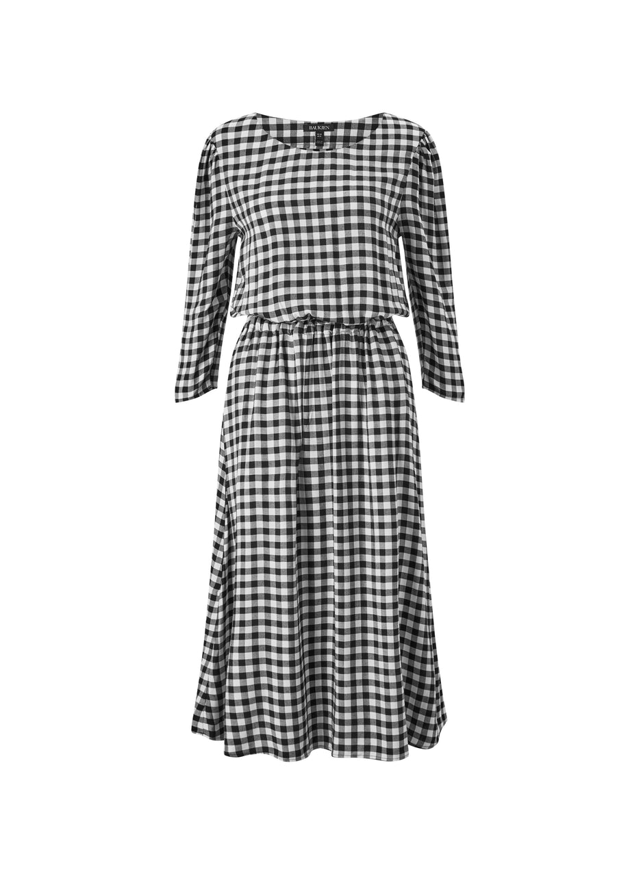 Emi Checkered Dress