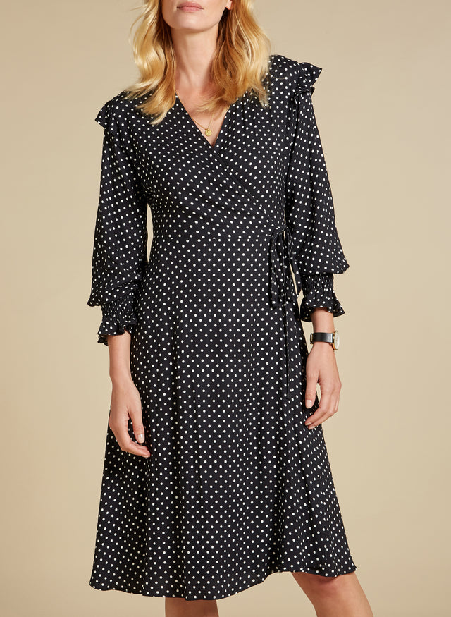 Polly Wrap Dress