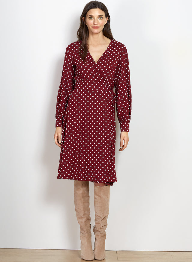 Verona Polka Dot Dress