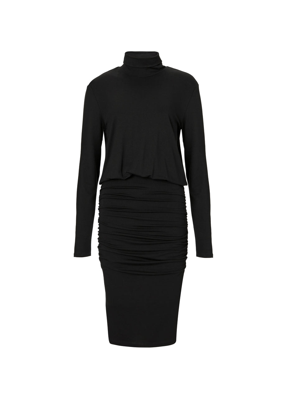 Corine Turtleneck Dress