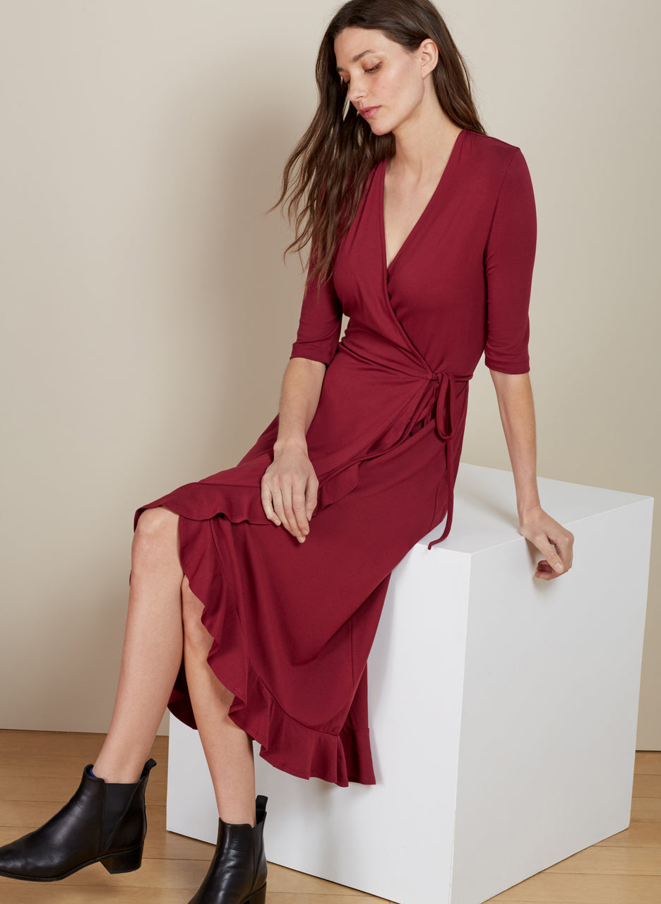 Meghan Ruffle Dress