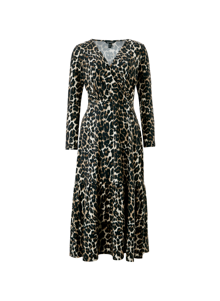 Abigail Leopard Dress