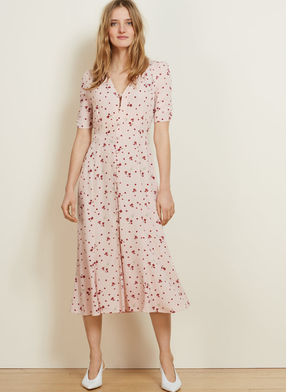Adele Button Dress