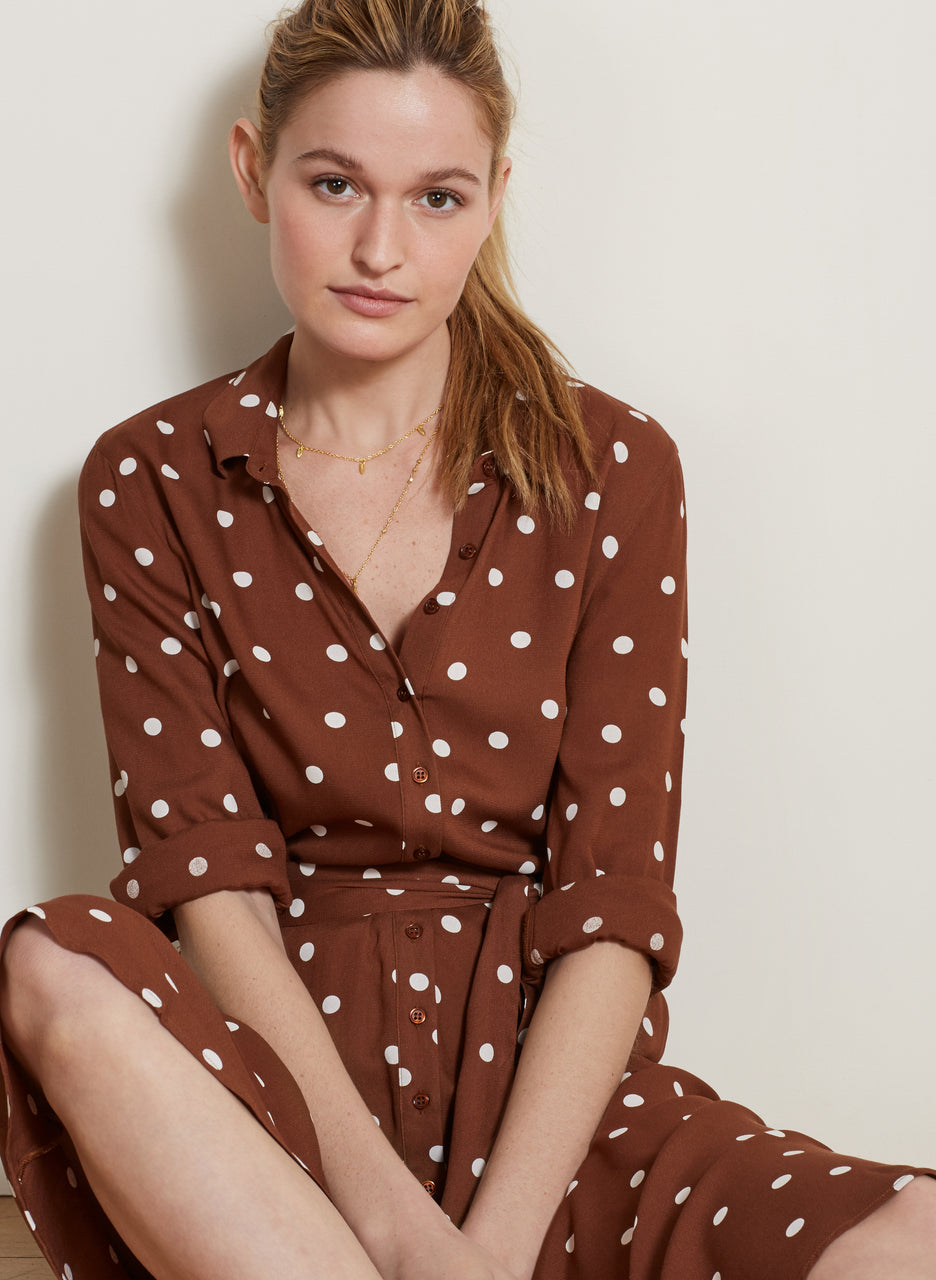Genevieve Shirt Dress
