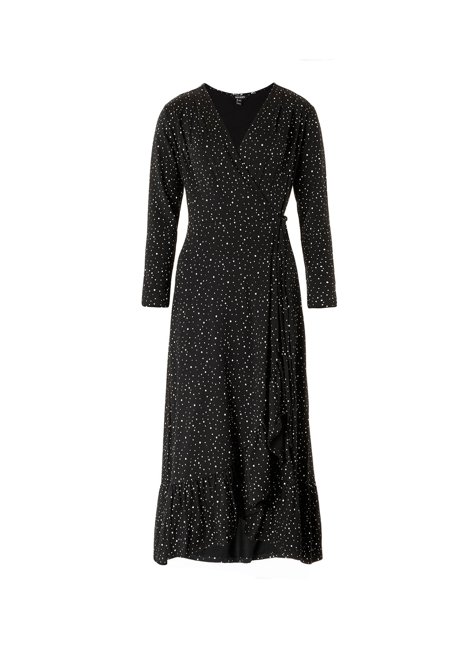 Kali Wrap Dress