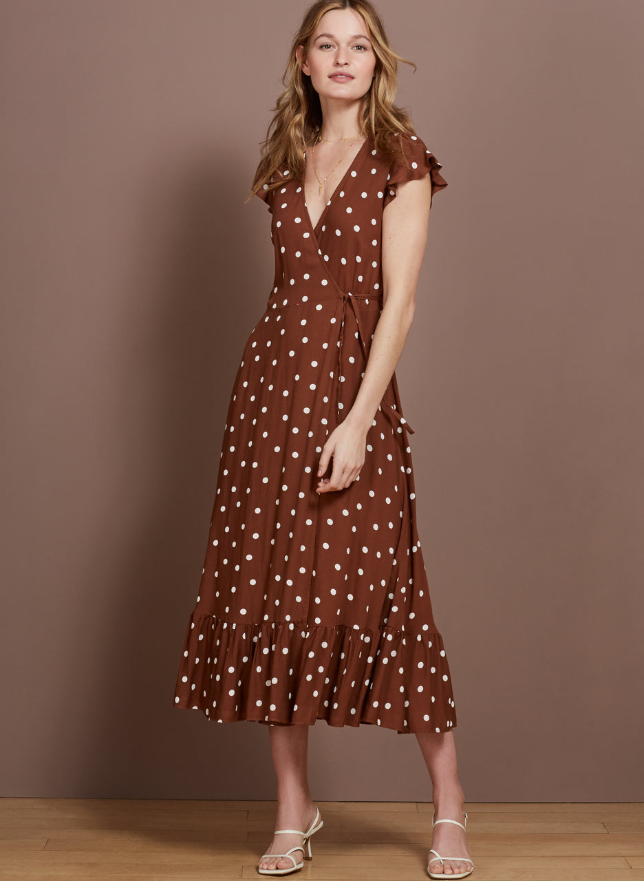 Genevieve Wrap Dress