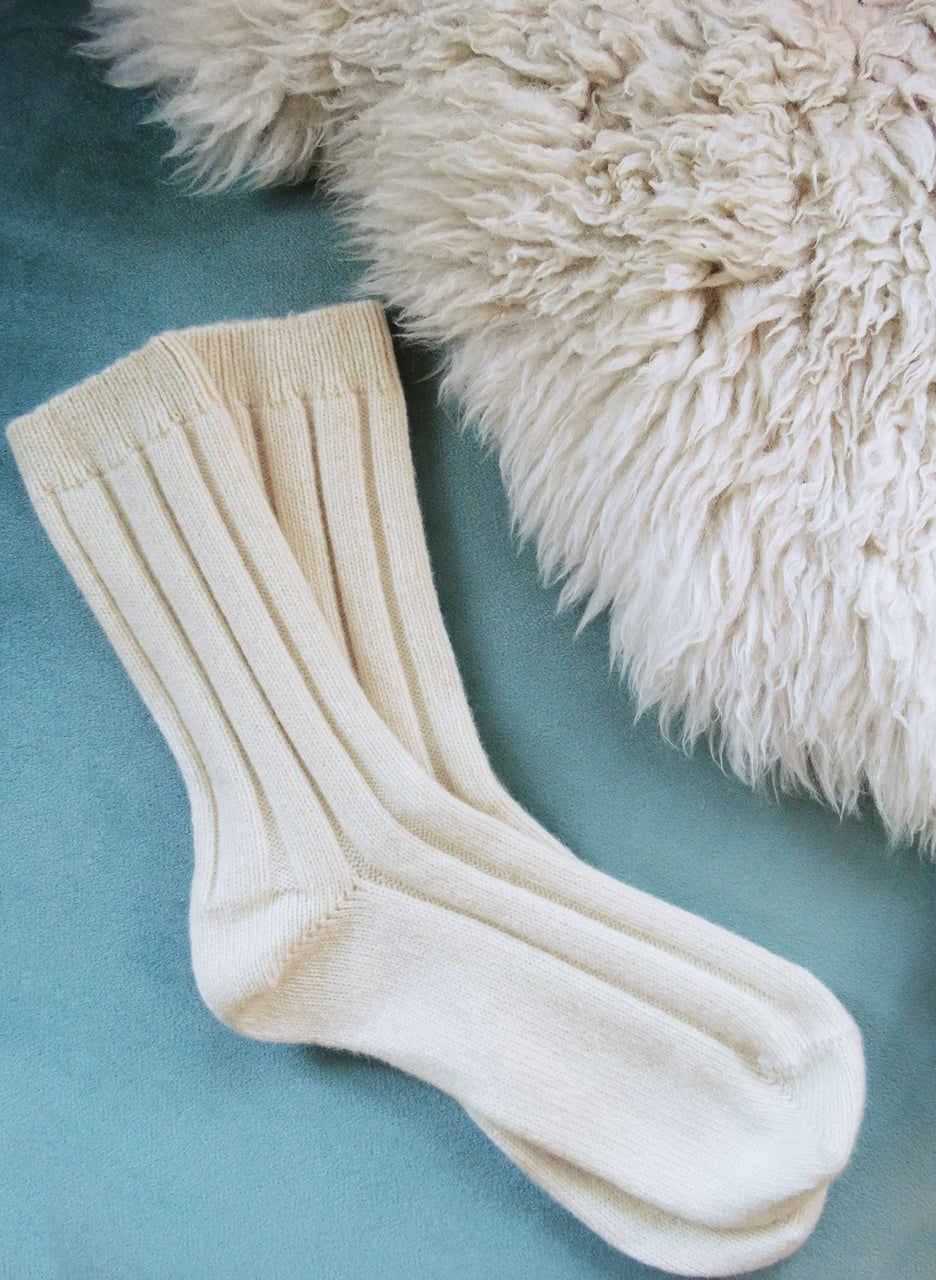 Eco Cashmere Socks