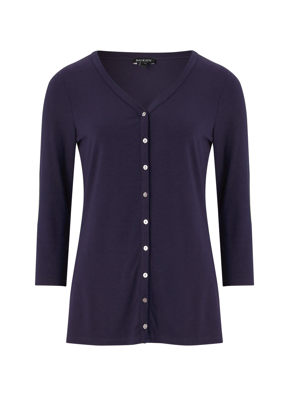 Emme Ecovero™ Button Top