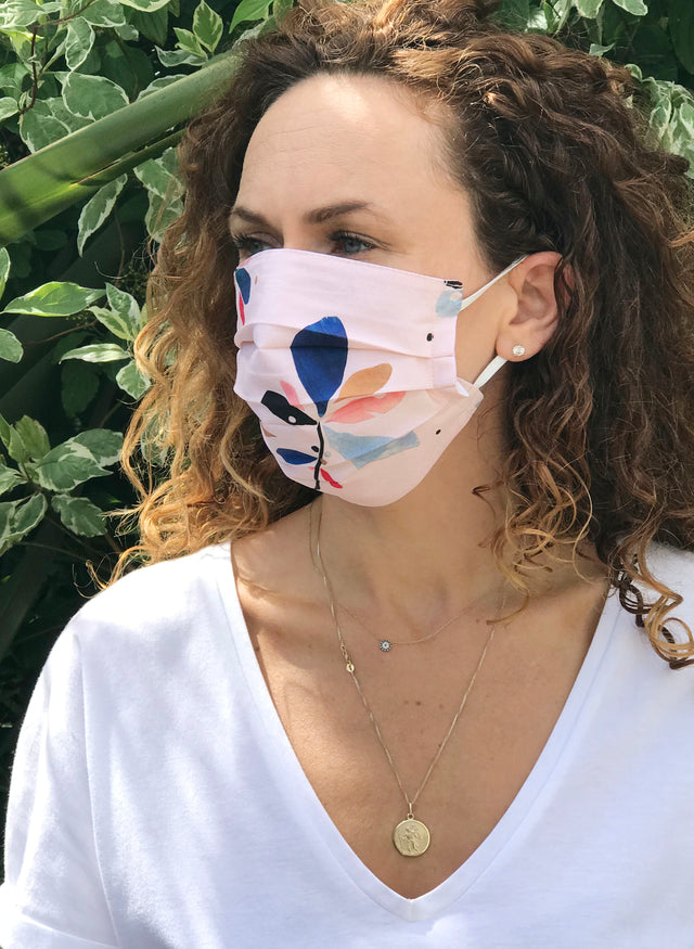 Premium Organic Cotton Face Mask - Adult