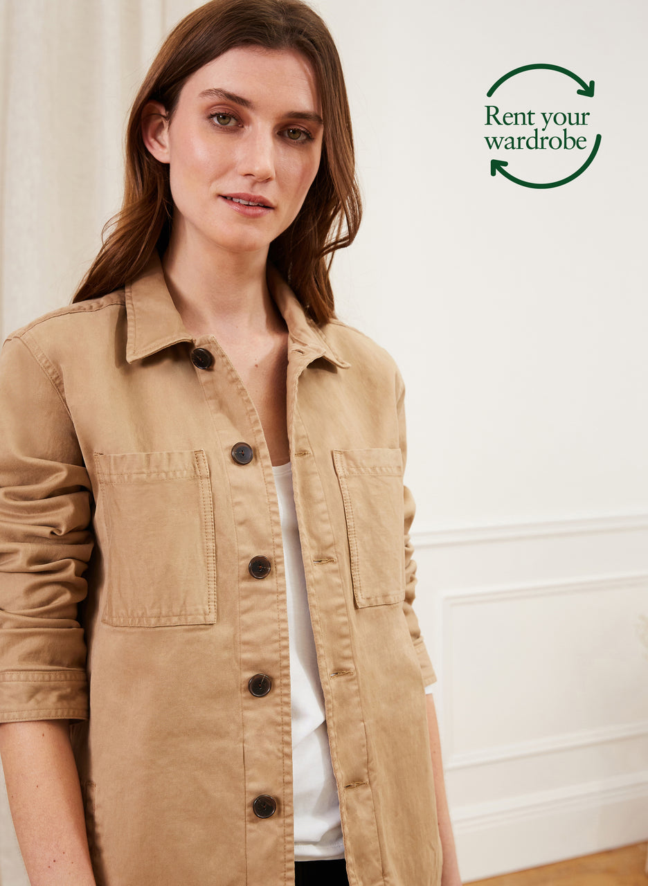 Gianna Organic Jacket to Rent
