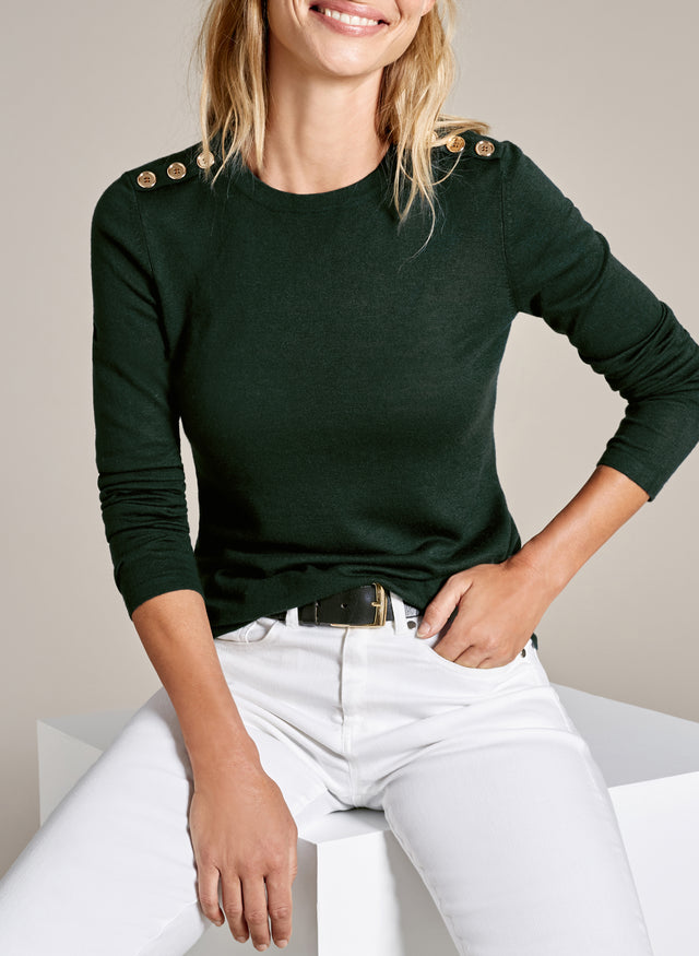 Florence Button Knit